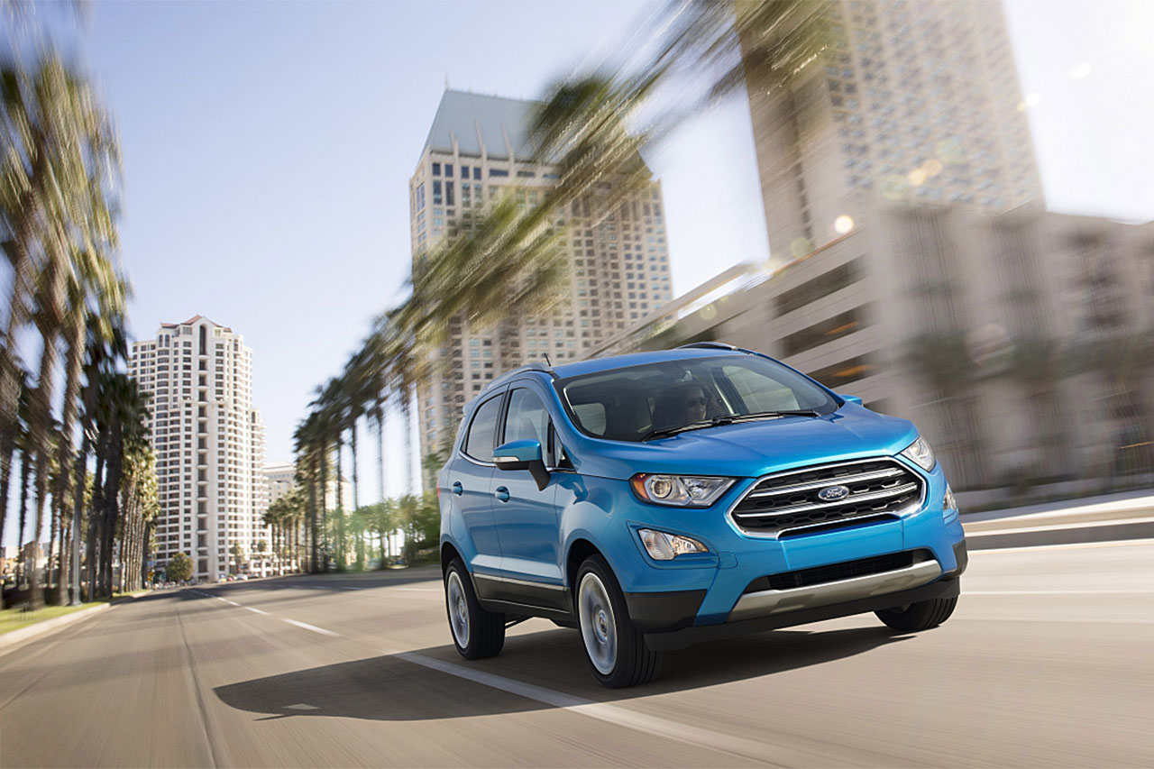 Ford EcoSport: Small Entry-Level Ford Crossover